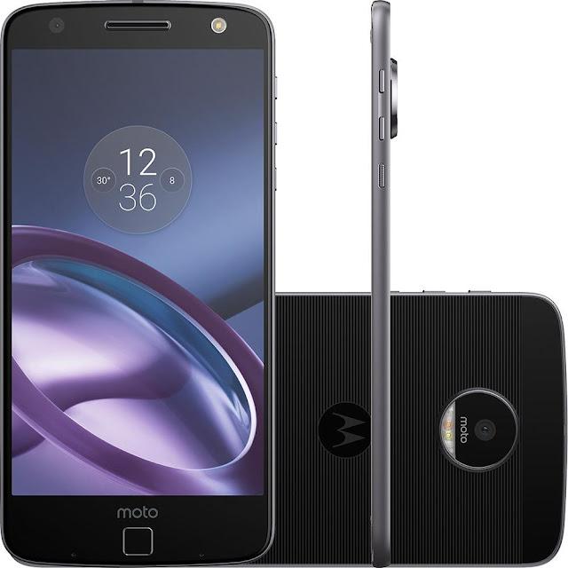 "Smartphone Moto Z Power Edition android 6.0 Tela 5,5"" câmera 13MP"