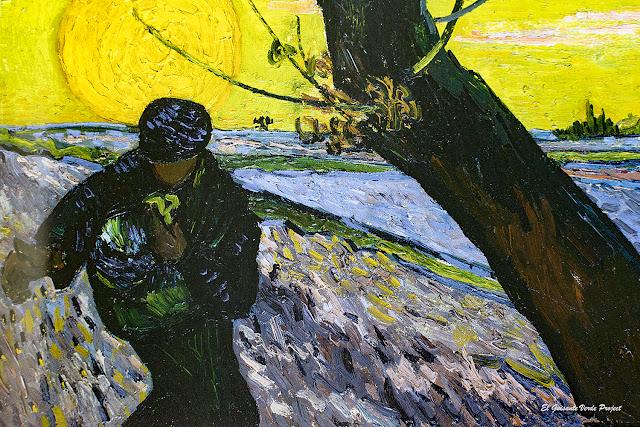 Van Gogh, El Sembrador - Fundación E.G.Bührle, Zurich por El Guisante Verde Project