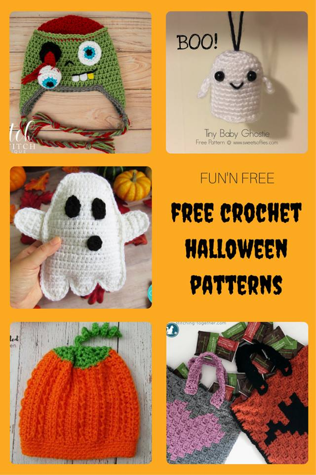Fun N Free Halloween Crochet Patterns Sweet Softies Amigurumi