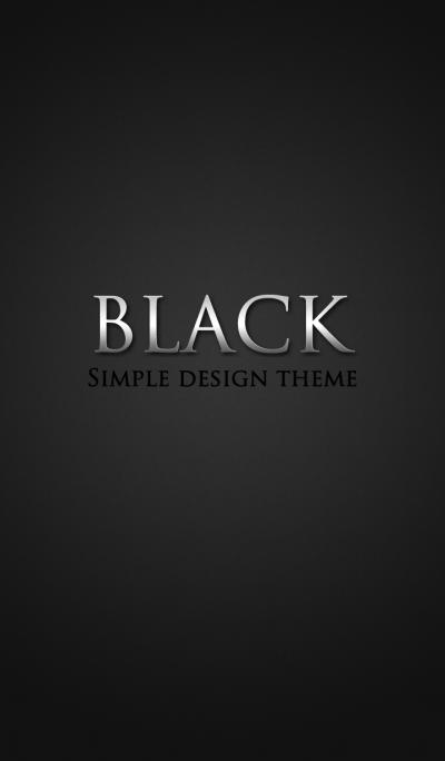 Stylish Black.
