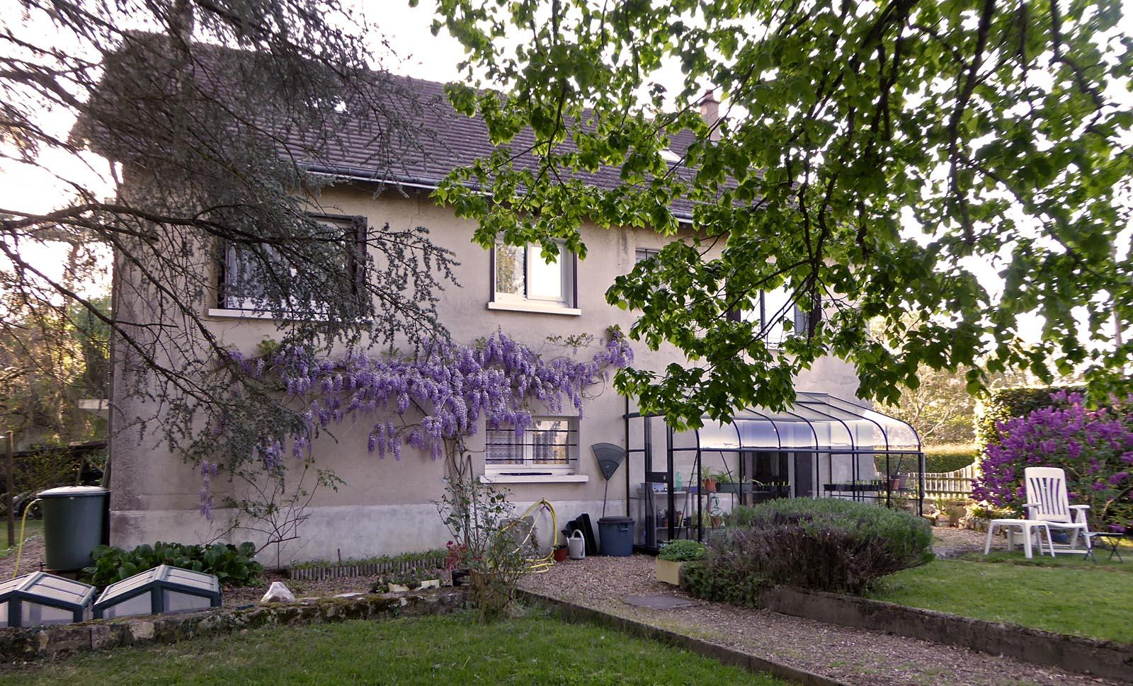 living the life in saint aignan la maison au printemps. Black Bedroom Furniture Sets. Home Design Ideas