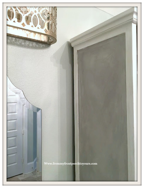 Master Bathroom Makeover-Faux Fisnish-Chalk Paint-Paris Gray-From My Front Porch To Yours