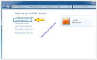 create a password windows seven