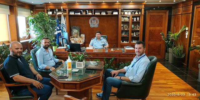 Με τον Αρχηγό της Ελληνικής Αστυνομίας συναντήθηκε η Ένωση Αστυνομικών Αργολίδας