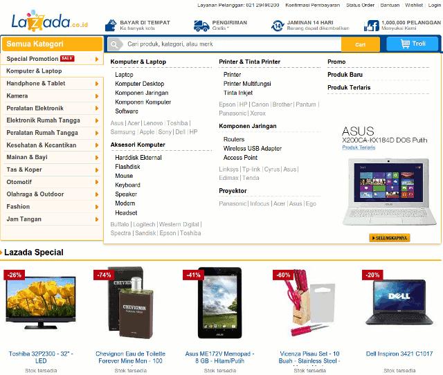 Lazada, Toko Online Terpercaya di Indonesia | PANDUAJI.NET