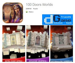 Soluzioni 100 Doors Worlds di tutti i livelli