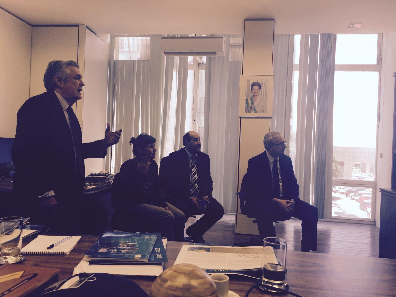 Cvt de beberibe encontro no minist rio de ci ncia for Ministerio de ciencia
