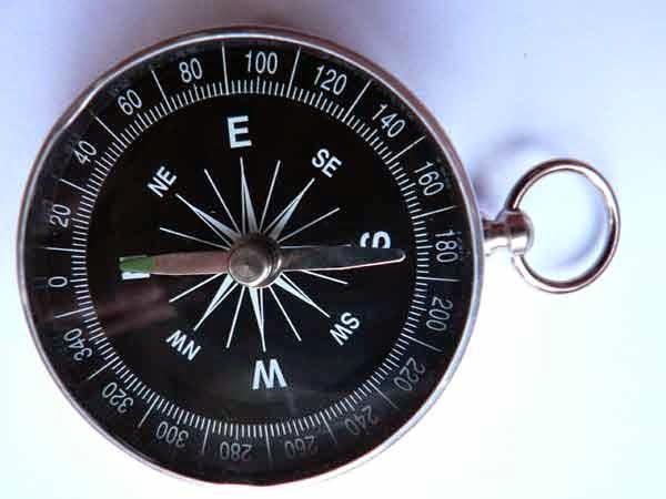 16 Arah Mata Angin dan Kompas ~ almaz scout