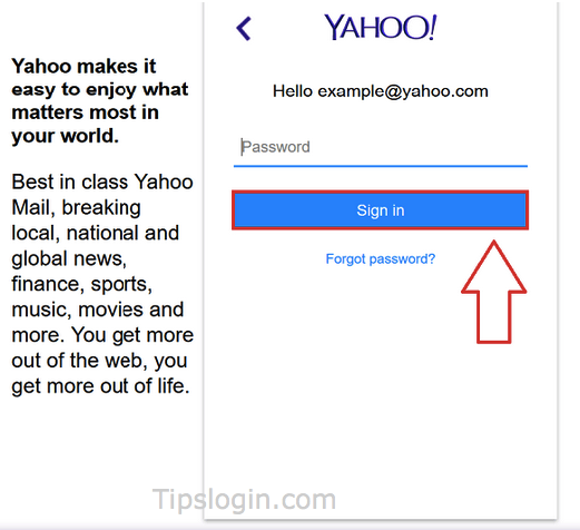 www.login.yahoo.com Url To Login Yahoo Mail