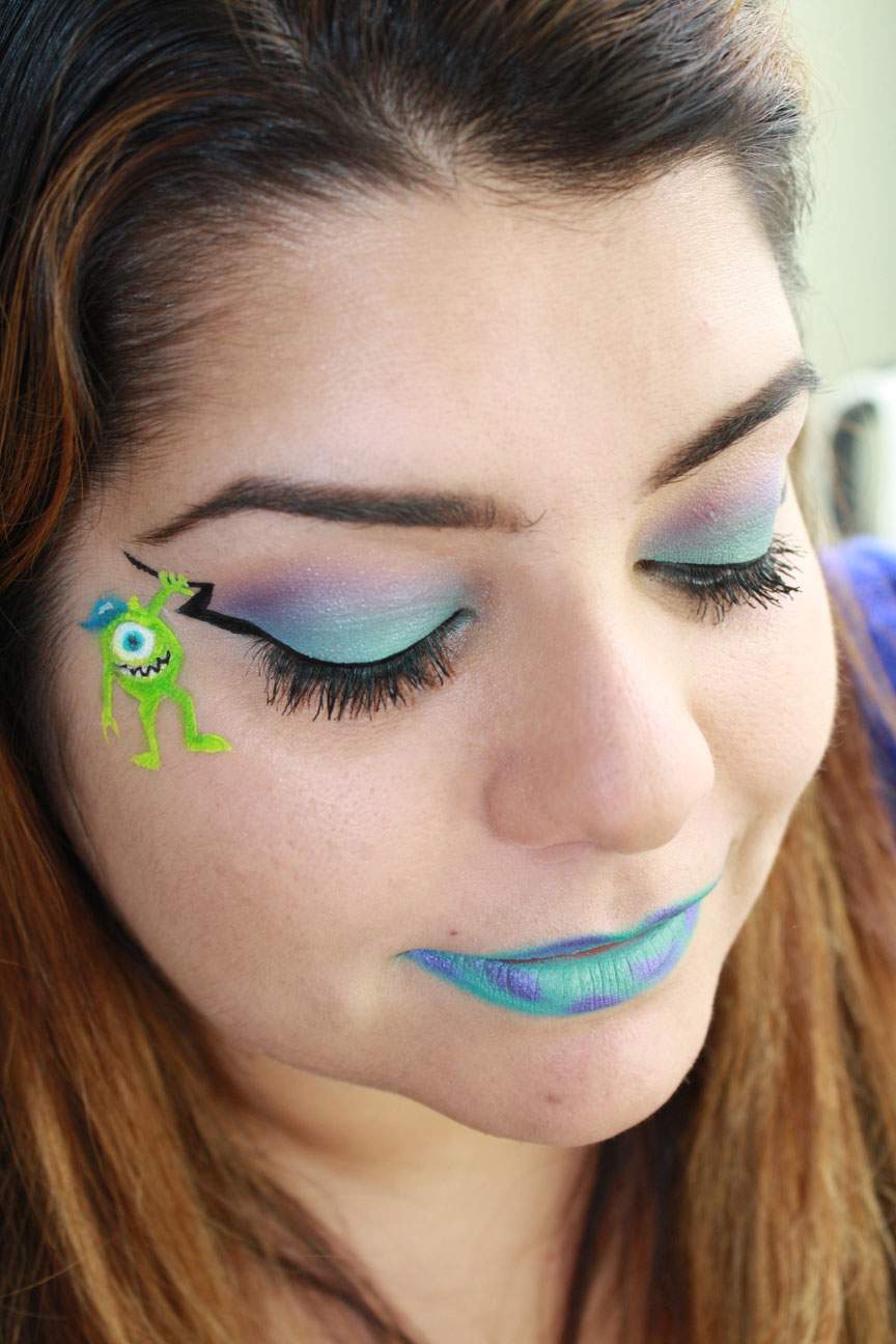 Monsters University Makeup Look