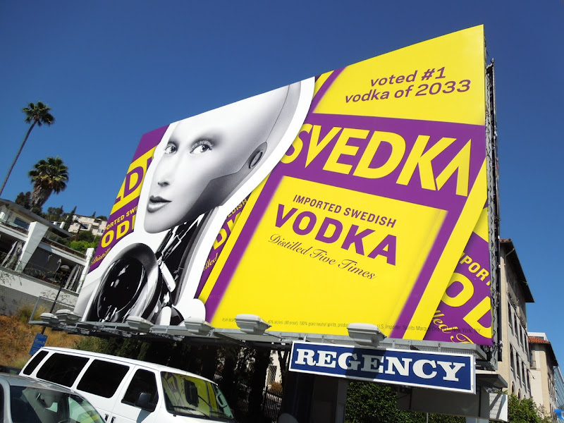 Svedka 2012 billboard Sunset Strip