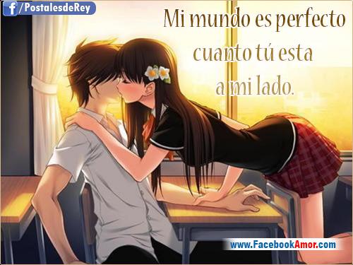 Imágenes Románticas De Anime Para Facebook