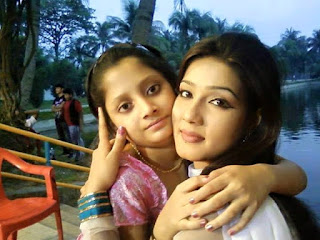 Puja Cherry Roy and Mahiya Mahi