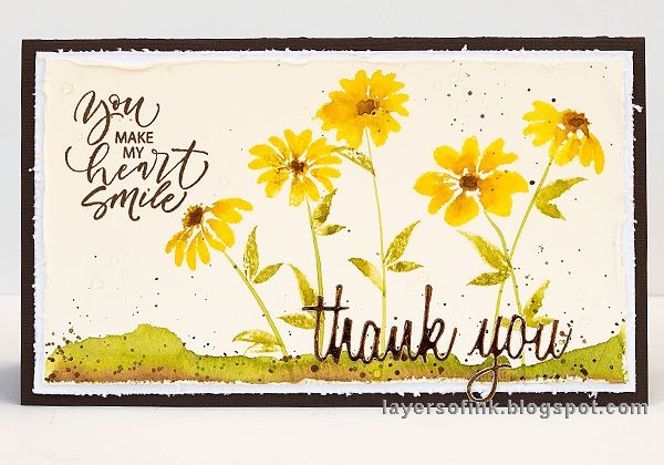 Watercolor Stamping Tutorial
