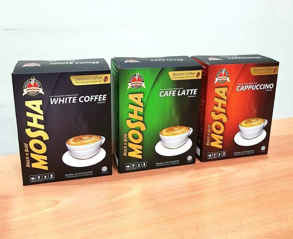 Dapatkan segera kopi - White Coffee, Cappuccino, Cafe Latte keluaran Muslim - Kifayahcom