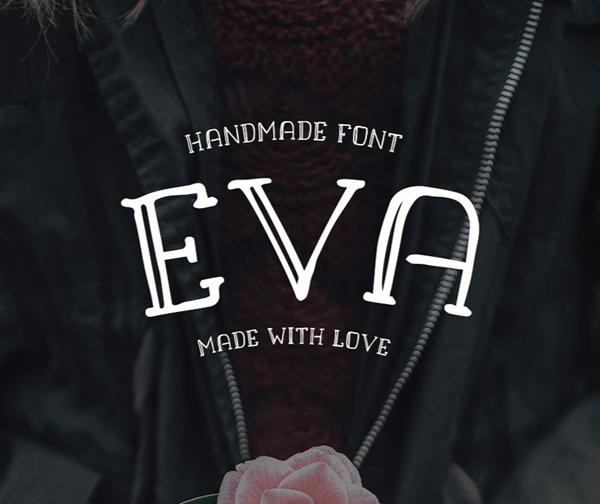 Download Font Terbaru 2018 - Eva Free Font