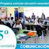 Competencias, capacidades y desempeños de Comunicación_5º CN-2017
