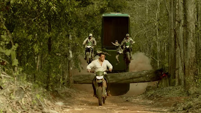 salman khan race 3 riding sports bike
