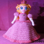 patron gratis princesa peach super mario bros amigurumi, free amigurumi pattern princess peach super mario bros