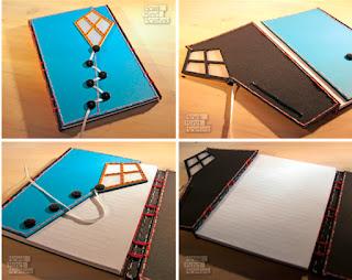 Crisscross binding