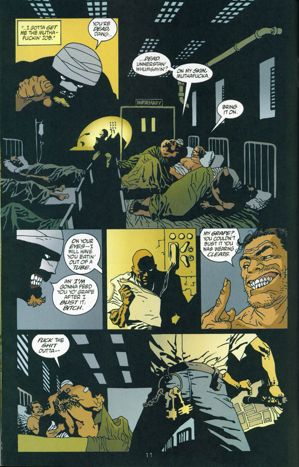Read online 100 Bullets comic -  Issue #45 - 13