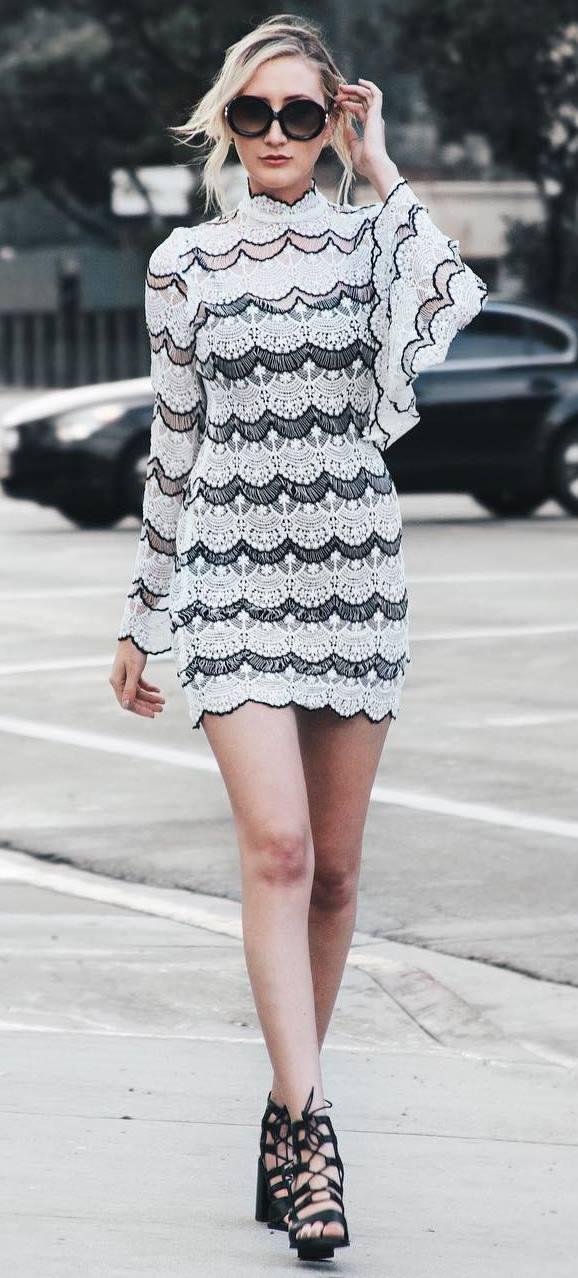 fashion trends: little dress + heels