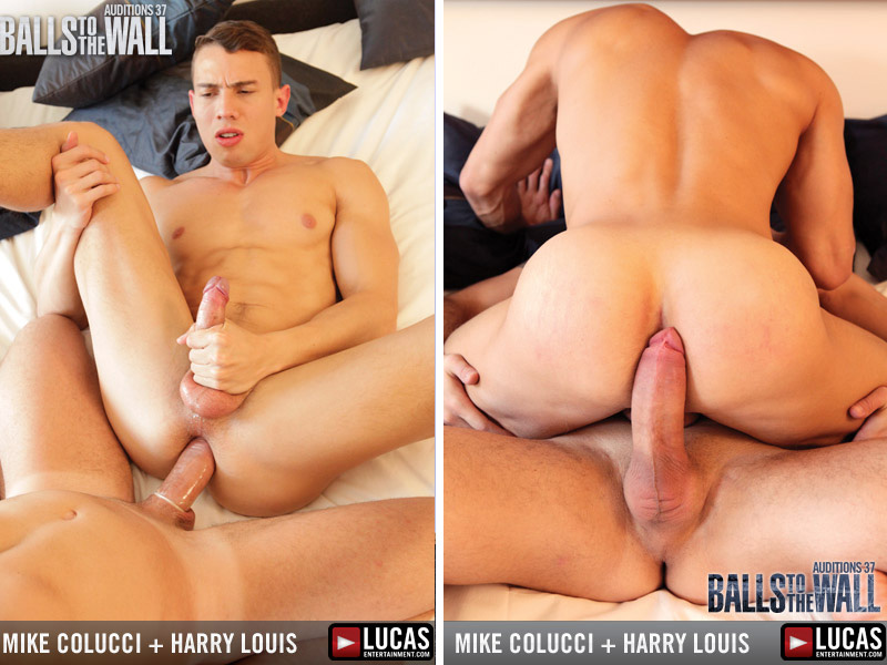 Harry Louise fucks Mike Colluci sexo gay 1