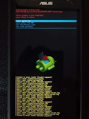 Memperbaiki Zenfone E:failed to mount /cache (Invalid argument)