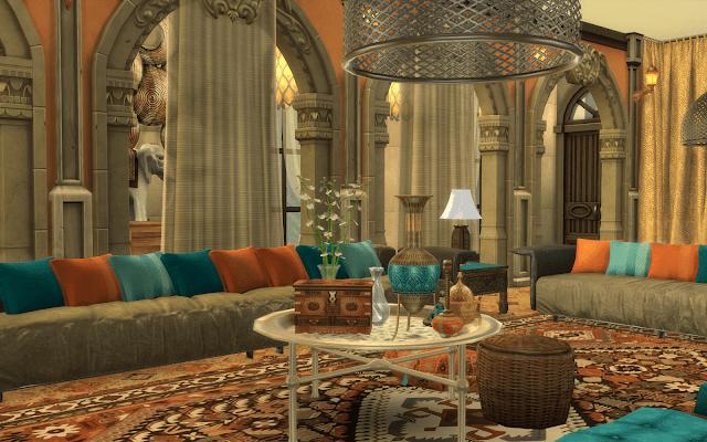 salon maroc sims 4