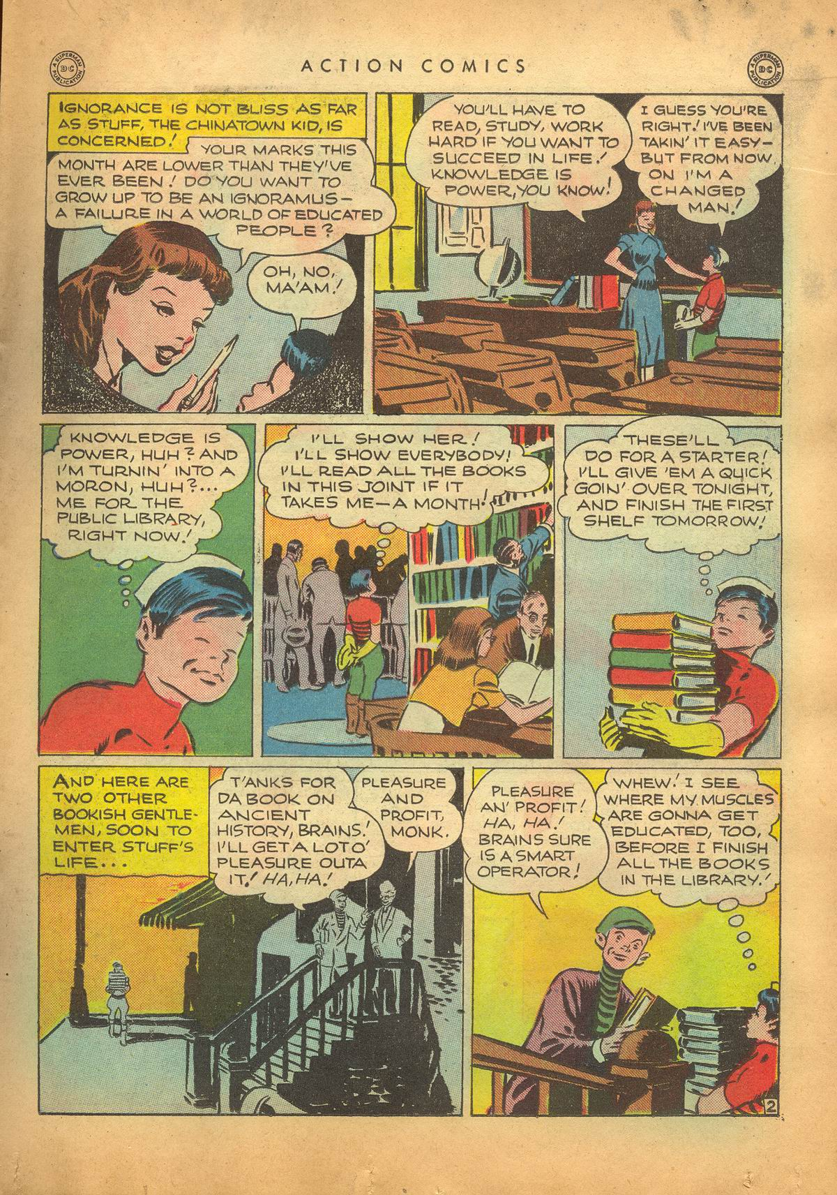 Read online Action Comics (1938) comic -  Issue #95 - 24