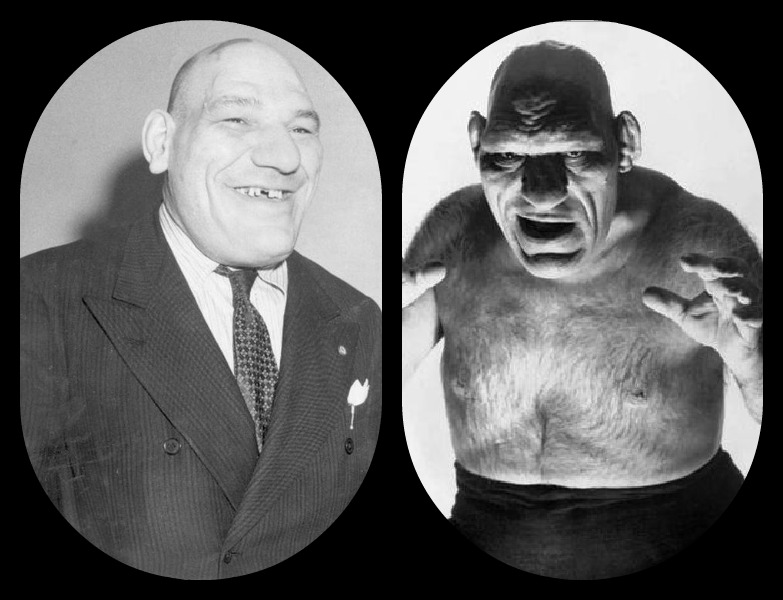 the french angel wrestler maurice tillet death masks and how he inspired shrek. Black Bedroom Furniture Sets. Home Design Ideas