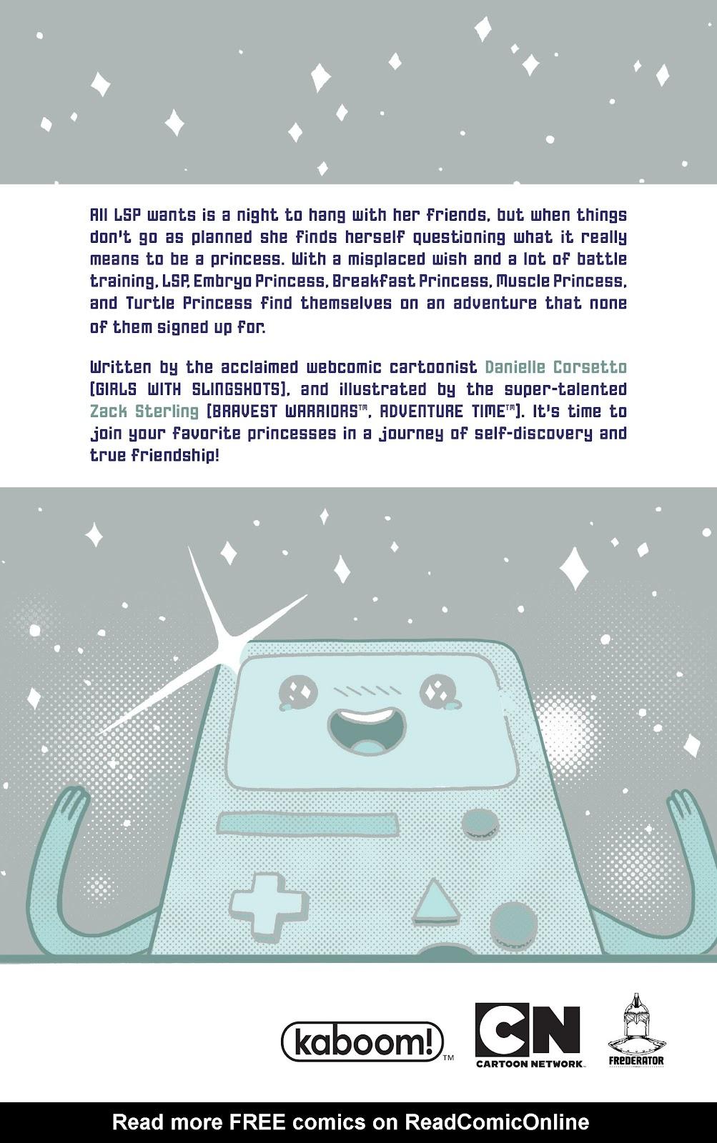 Read online Adventure Time: Pixel Princesses comic -  Issue # Full - 161