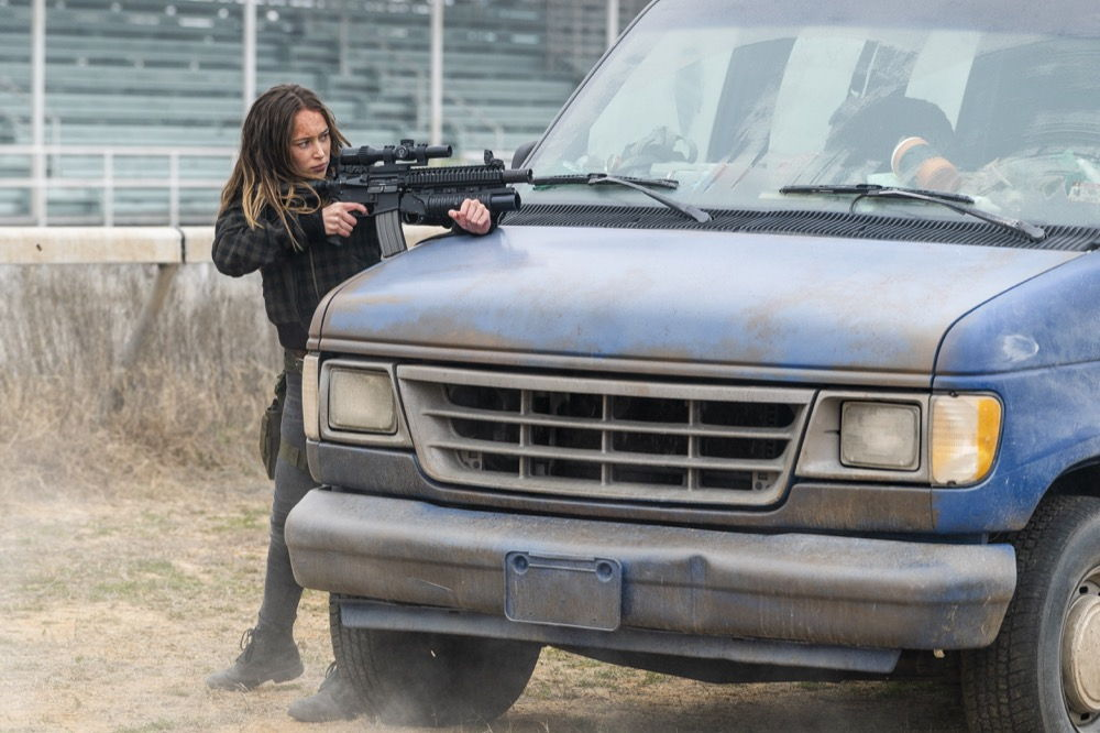 Alicia, en el episodio 4x07 de Fear The Walking Dead