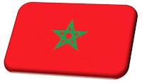 Morocco travel tourist map