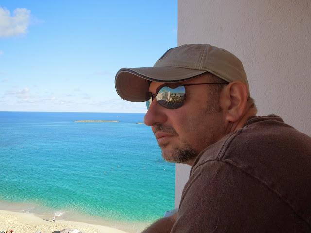 Ron on balcony