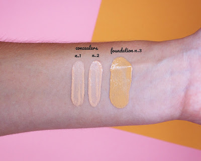 Viva la Diva Conealer and foundation review + swatches