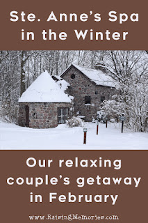 A relaxing couples spa getaway during winter in ontario