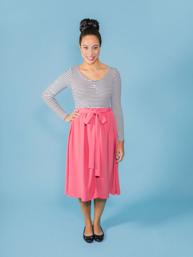 Dominique skirt sewing pattern - Tilly and the Buttons
