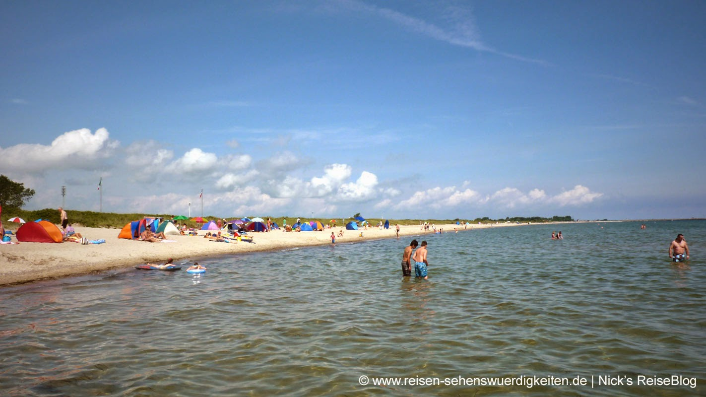 Strand in Schönhagen an der Ostsee
