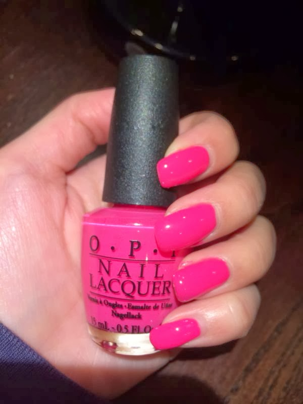 Bottles Of Dreams Opi B68 Thats Hot Pink