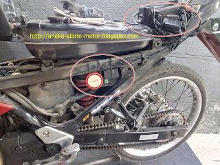 Cara pasang alarm motor remote pada Suzuki Satria F