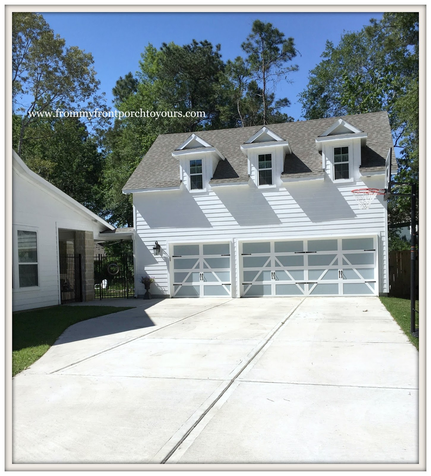 Farm House Garage Doors : From my front porch to yours farmhouse garage door makeover