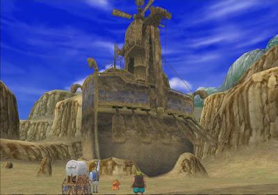 Dragon Quest VIII - El Periplo del Rey Maldito - Barco