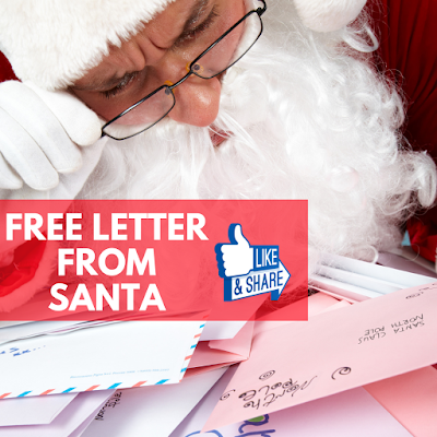 FREE Letter from Santa for Kids in Canada