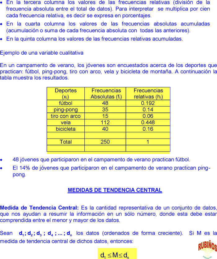 Ejercicios de media mediana moda varianza y desviación estándar pdf