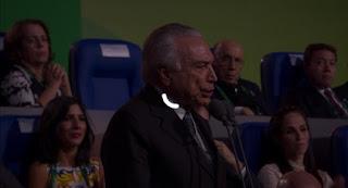 Presidente é vaiado durante abertura da Olimpíada no Rio