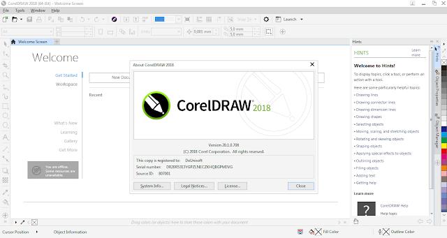 Download CorelDRAW Graphics Suite 2018 v.20.1.0.708 Full Version