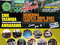 Desain Brosur Sosialisasi SMK Yasmida Ambarawa Keren