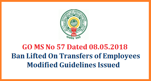 AP GO MS No 57 Ban Lifted on Transfers and Modified Guidelines on Transfers