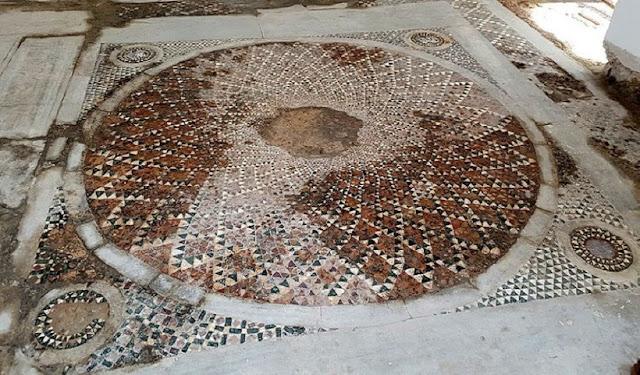 Priceless Byzantine mosaic found under mosque in Turkey